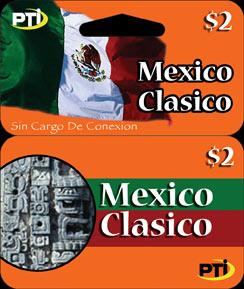 mexico classico calling card - Mexico Calling Card