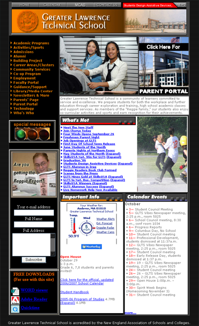Greater Lawrence Technical High School Home Page