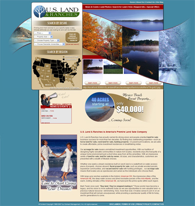 US Land & Ranches Home Page